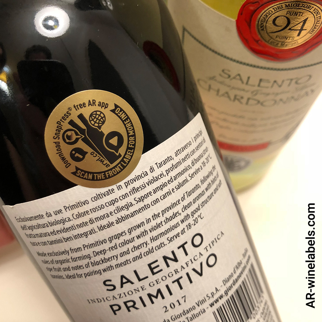 Augmented Reality Wine & Spririts labels are   connected, they are your digital ambassadors for a