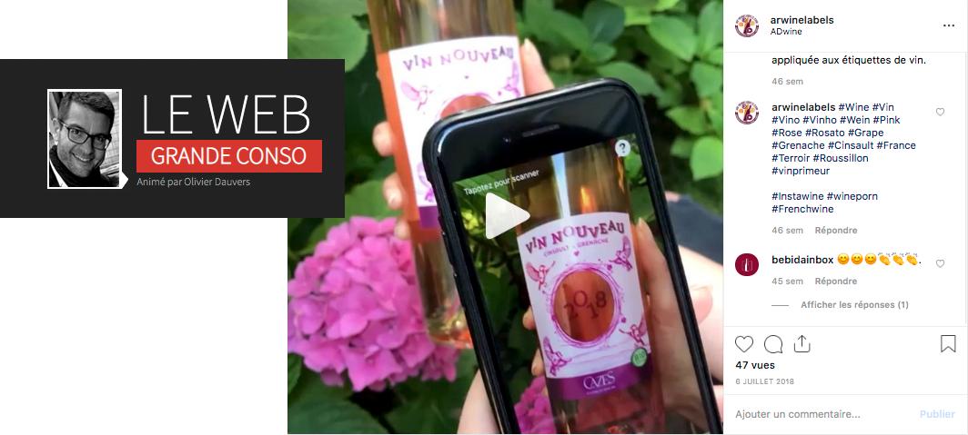 Le Web Grande Conso d'Olivier Dauvers - Foires aux vins : start-up cherche enseignepour tester la réalité augmentée